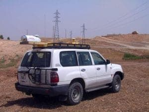 Vehicle mounted laser scanner - Morocco