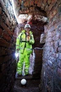 laser scanning Exeter passages