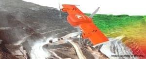 UAV - Drone aerial survey for stockpile volumes