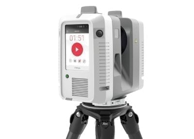 RTC3604 laser scanning