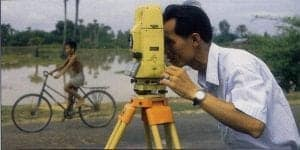 Cambodia - Vietnam topographical survey for road widening