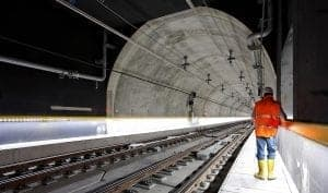 Rail and tunnelling survey work