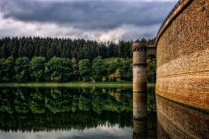 Bathymetric and lidar survey for dam volume and dam stability monitoring