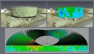 storage tank deformation