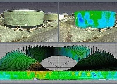storage tank deformation